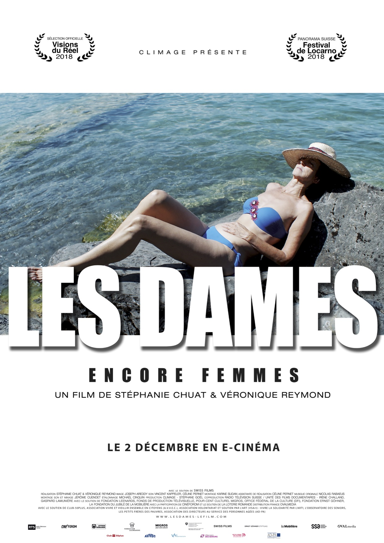 Affiche documentaire les Dames